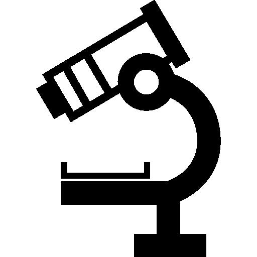 현미경 측면보기  무료 아이콘