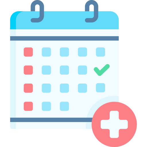 Medical appointment  free icon
