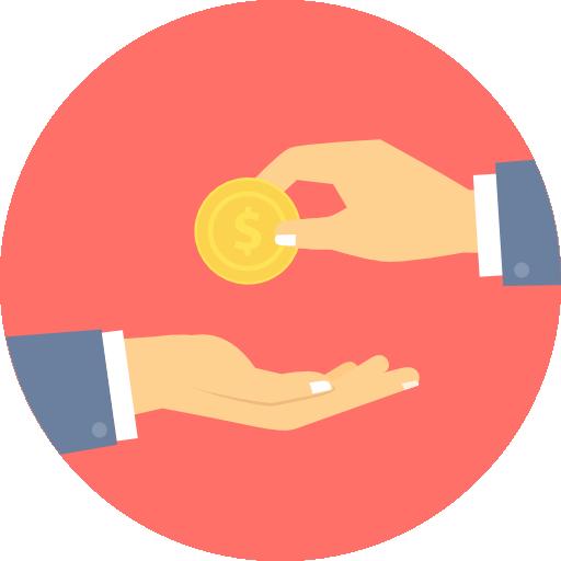 Transaction  free icon