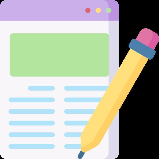 Blog  free icon