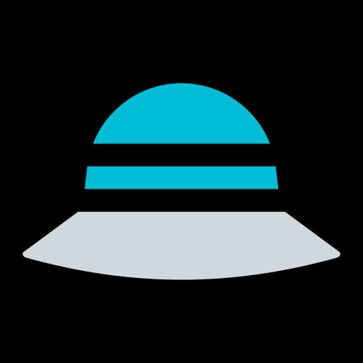 Sun hat  free icon
