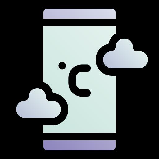 application météo  Icône gratuit