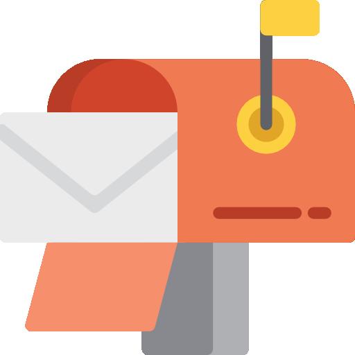Postbox  free icon