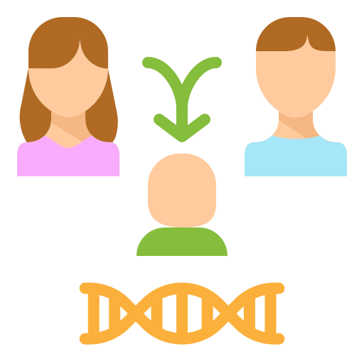 Heredity free icon