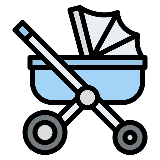 Baby stroller  free icon