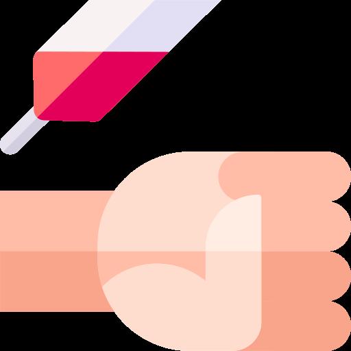 extração de sangue  grátis ícone