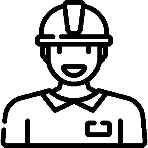 Labor man  free icon