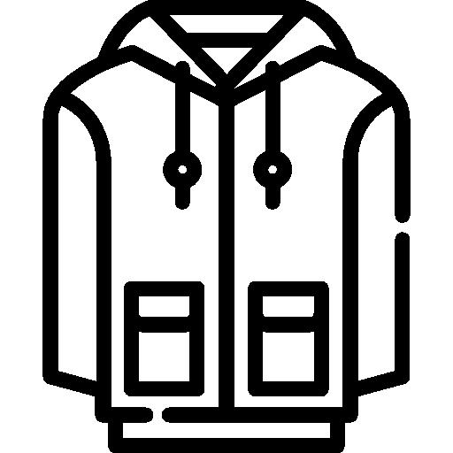 Толстовка с капюшоном  бесплатно иконка