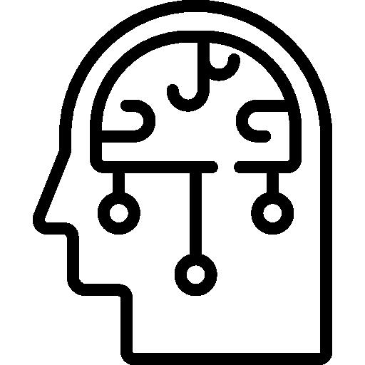 cerveau  Icône gratuit