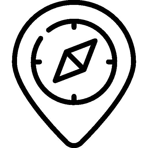 boussole  Icône gratuit
