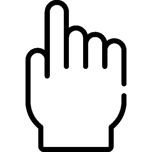 main  Icône gratuit