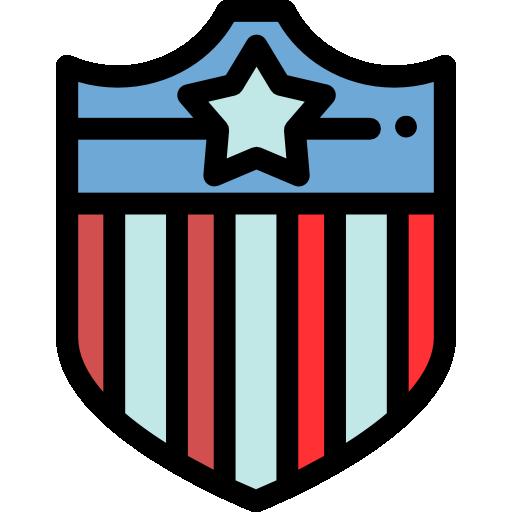 미국 방패  무료 아이콘