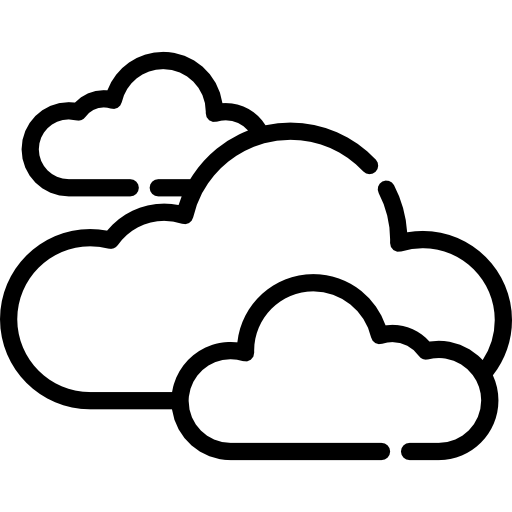 nubes  icono gratis