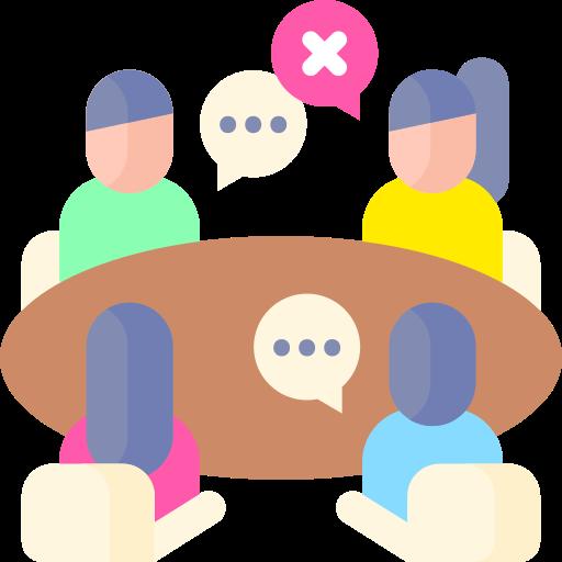 réunion  Icône gratuit