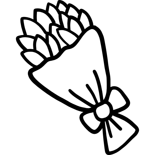 Bouquet  free icon