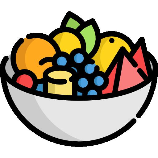 salade de fruit  Icône gratuit