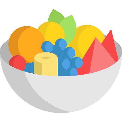 ensalada de frutas  icono gratis