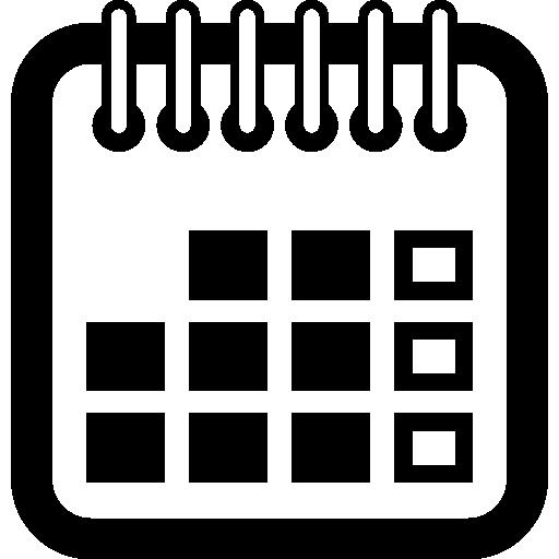 Símbolo de calendario anual - Iconos gratis de interfaz