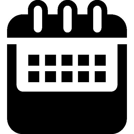 variante de calendrier annuel  Icône gratuit