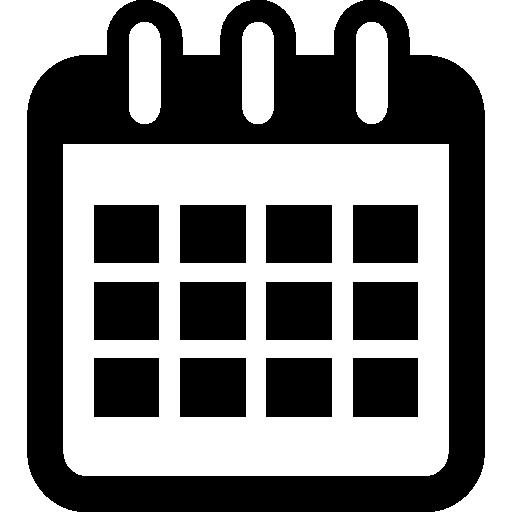 herramienta de símbolo de interfaz de calendario  icono gratis