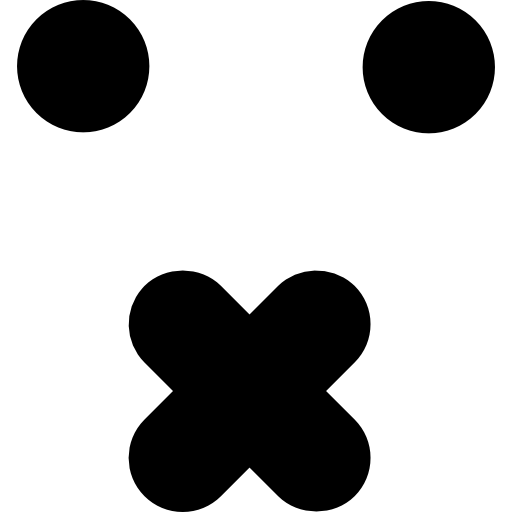 Отключить смайлик квадратное лицо  бесплатно иконка