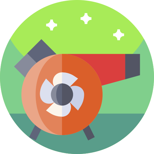 Air cleaning  free icon