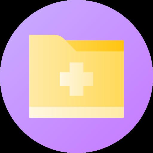 registros médicos  icono gratis