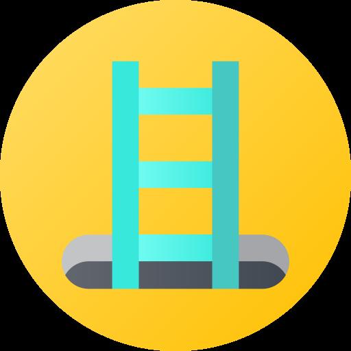 escalera  icono gratis