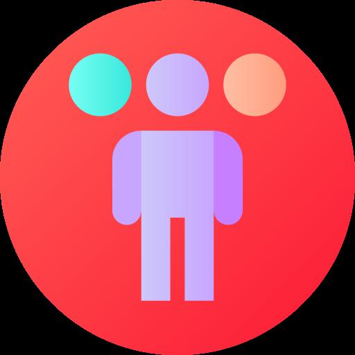 trastorno de identidad disociativo  icono gratis