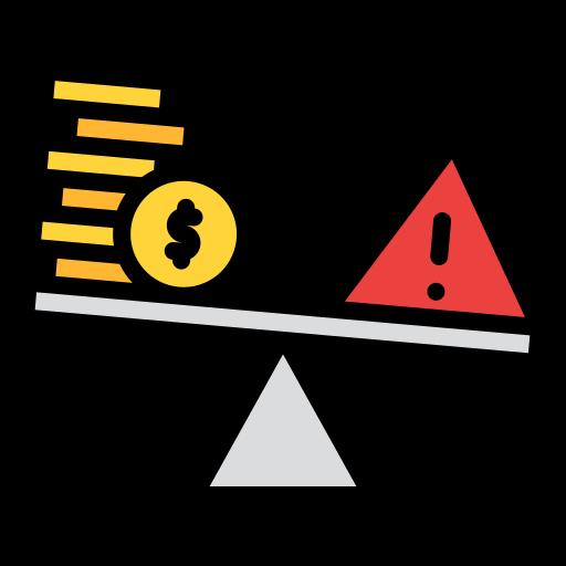 Risk  free icon
