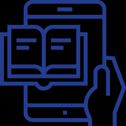 Ebook  free icon