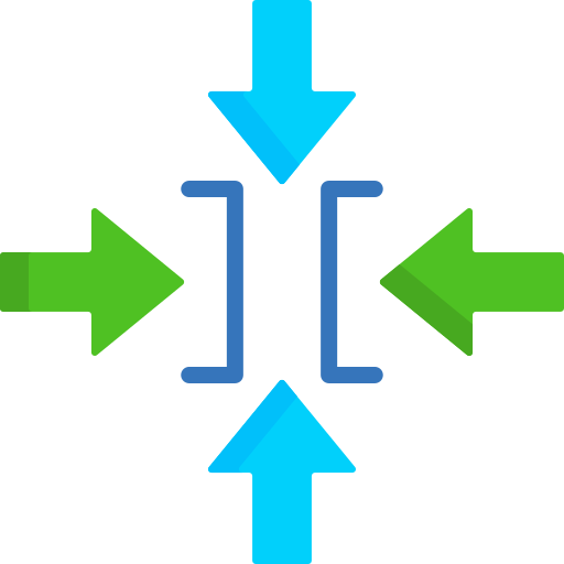 Constraint  free icon