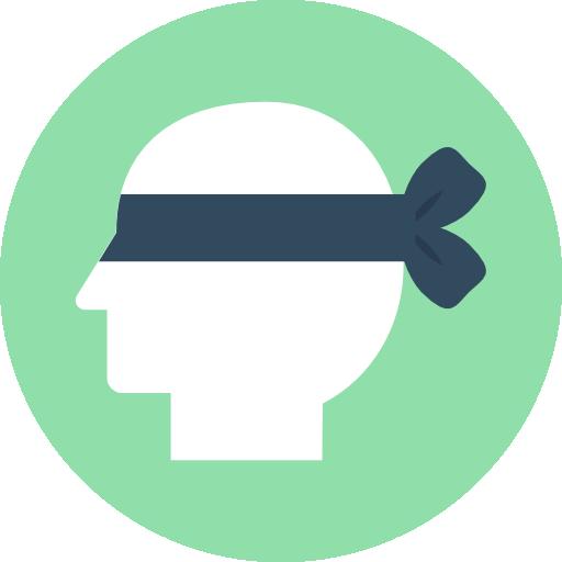 Blind  free icon