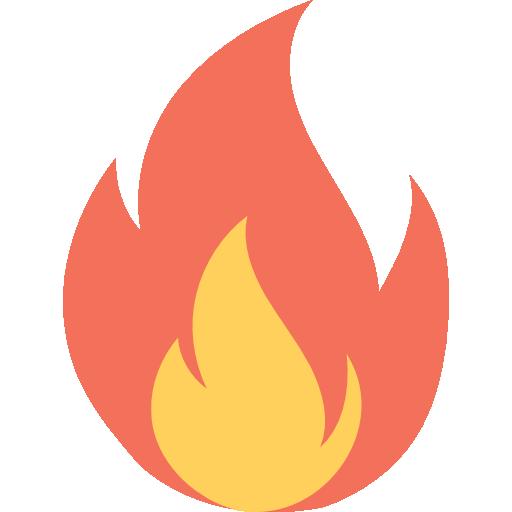 fuego  icono gratis