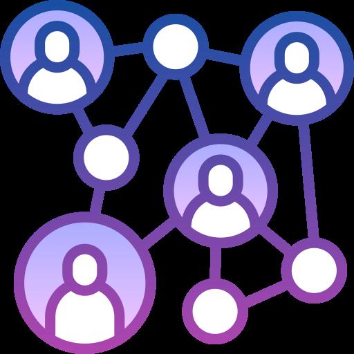 Социальная сеть  бесплатно иконка