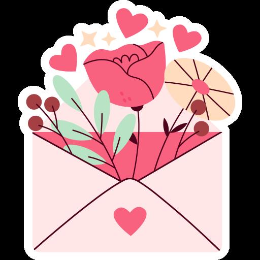 mensagem de amor  grátis figurinha