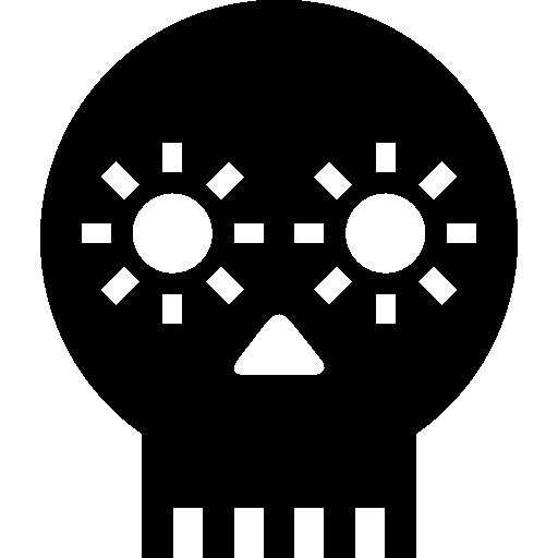 crânio artesanal do méxico  grátis ícone