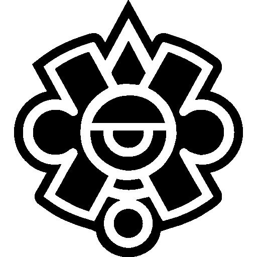 símbolo maia do méxico  grátis ícone