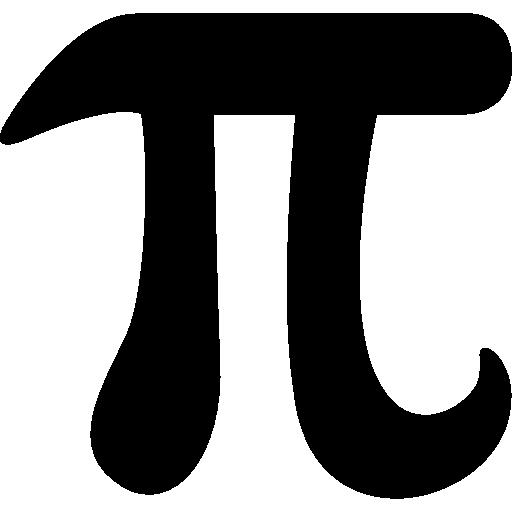 Символ математической константы Пи  бесплатно иконка