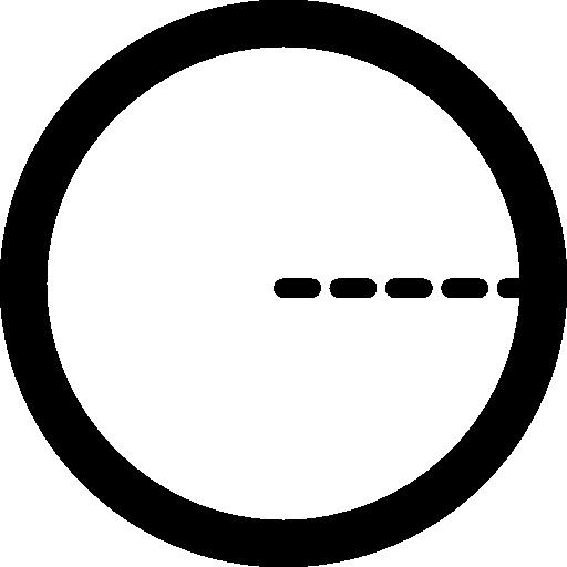 Радиус круга  бесплатно иконка