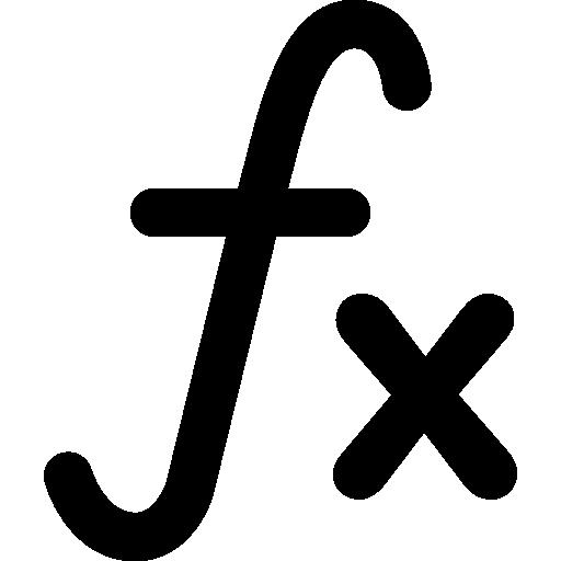 Математический символ функции  бесплатно иконка