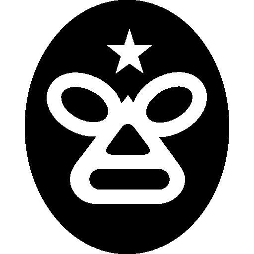máscara de lutador do méxico  grátis ícone