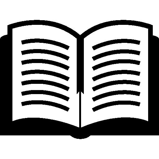 열린 책 평면도  무료 아이콘