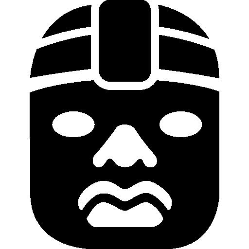 chefe olmeca do mexico  grátis ícone