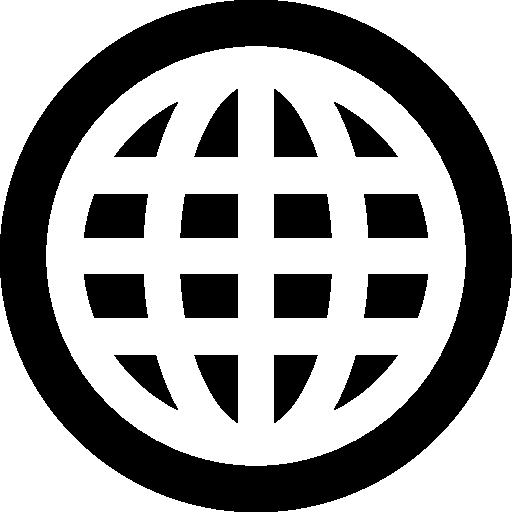 Web, www, world grid  free icon