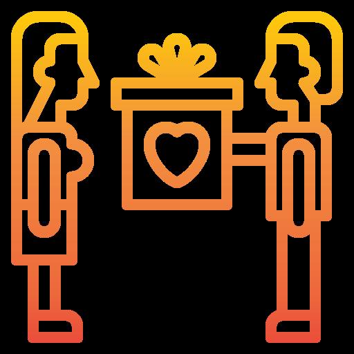 Дарить подарок  бесплатно иконка