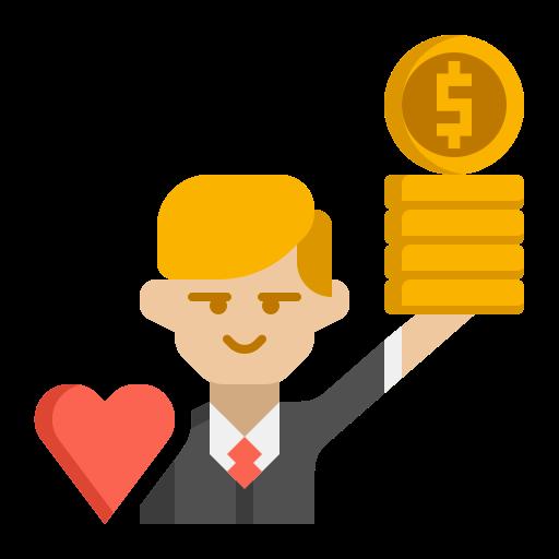 visión de la empresa  icono gratis
