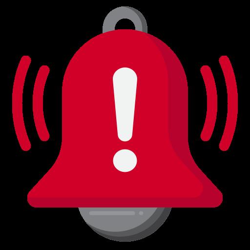 alarme  Icône gratuit