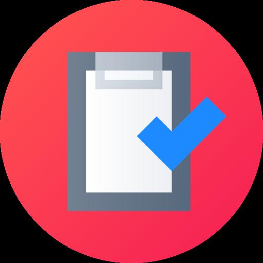 lista corta  icono gratis