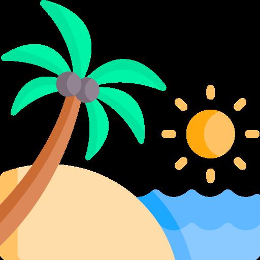vacances d'été  Icône gratuit